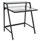 2-Tier Black Office Desk - LMS-OFD-TM-2TIER-CL