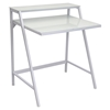 2-Tier White Office Desk
