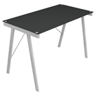 Exponent Rectangular Office Desk - Black