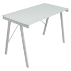 Exponent Rectangular Office Desk - White