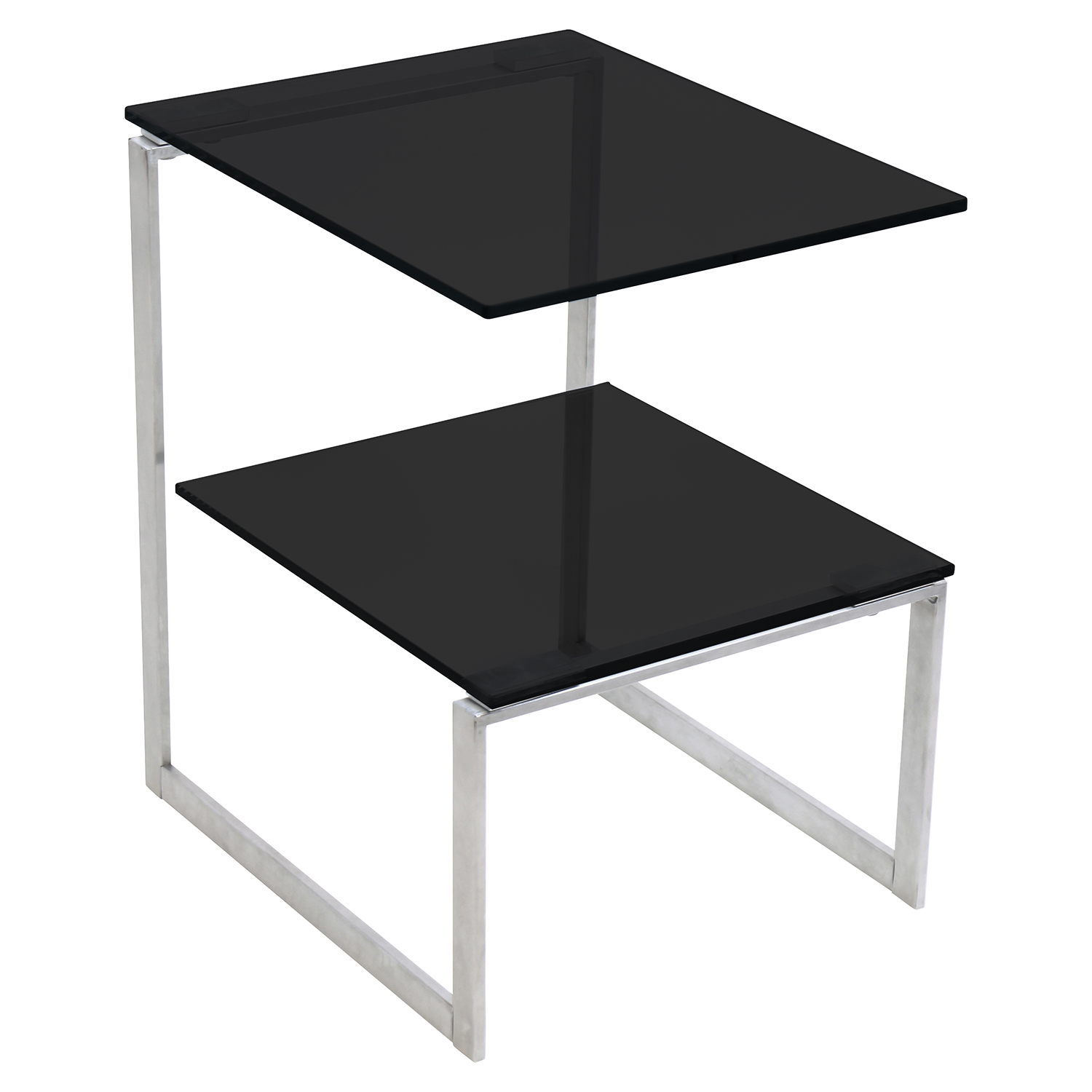 6G Rectangular End Table - Black