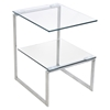 6G Rectangular End Table - Clear