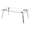 Glacier Rectangular Coffee Table - Clear