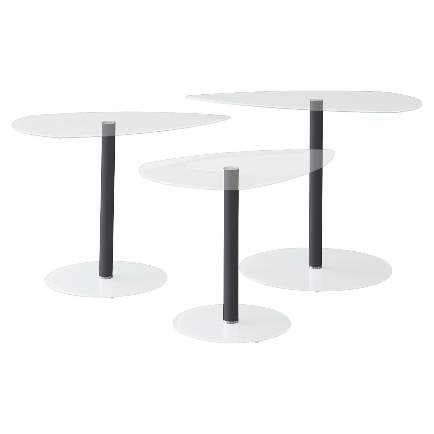 Pix Nesting Tables - Clear - LMS-TB-NTPIX-CL