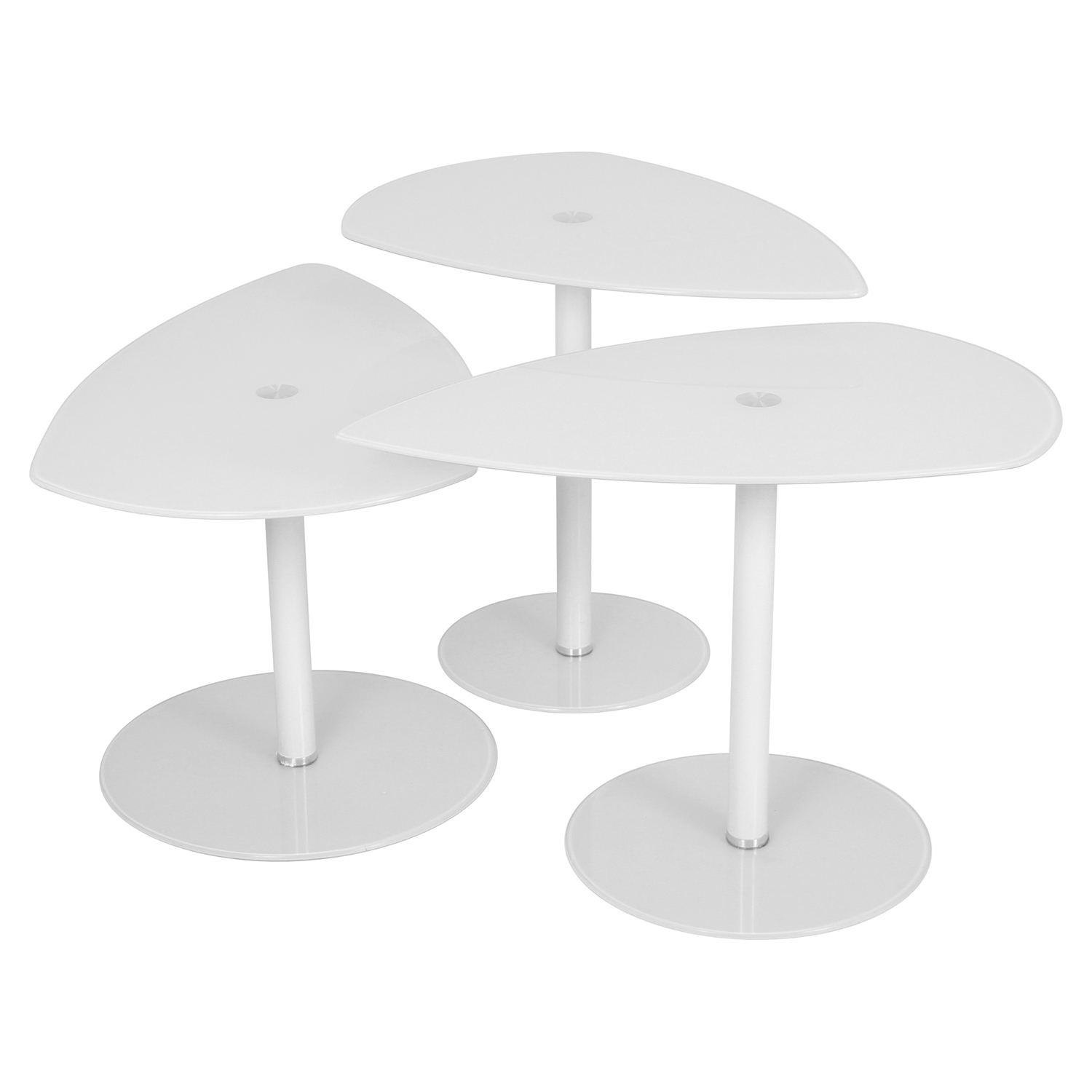 Pix Nesting Tables - White