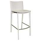 "Panca 26"" Counter Stool - White"