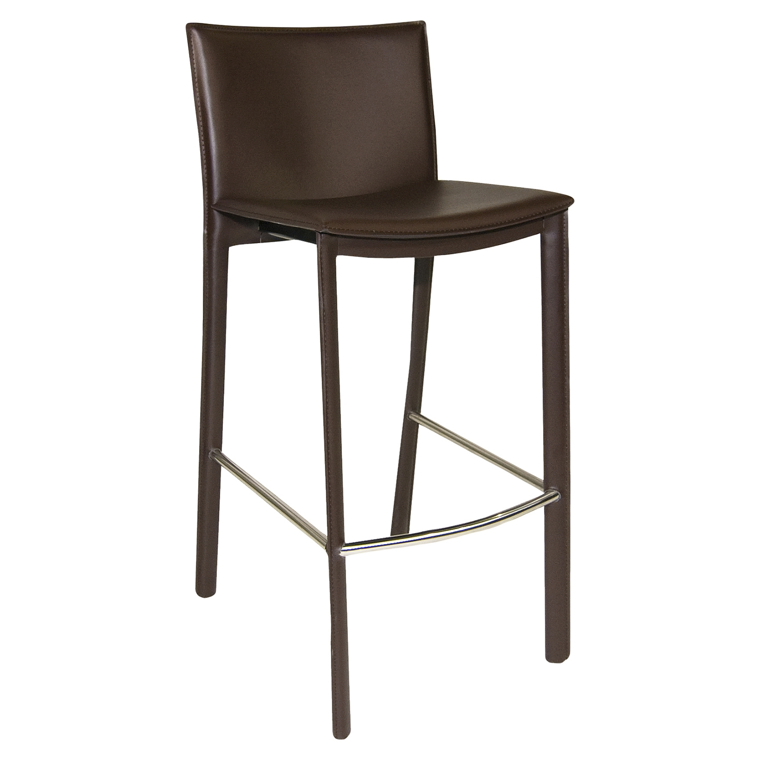 Panca Counter Stool - Dark Brown