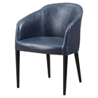 Maude Club Chair - Blue