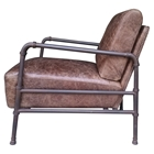 Livingstone Club Chair - Light Brown