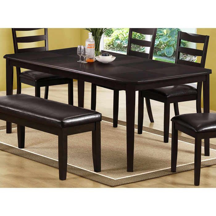 Diligence Extending Dining Table - Two Tone Top