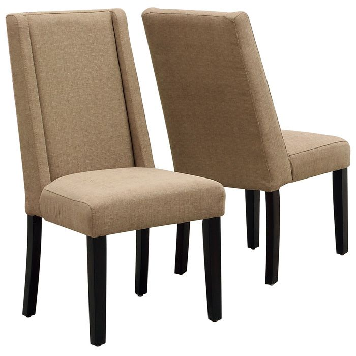 Enthusiasm High Back Dining Chair - Taupe