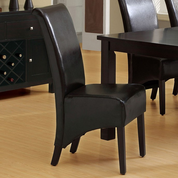 Reverence Rollback Side Chair - Dark Brown (Set of 2)
