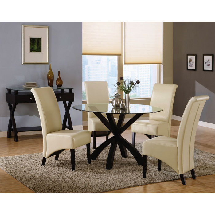 Reverence Rollback Side Chair - Taupe (Set of 2) - MNRH-I-1777TP