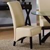 Reverence Rollback Side Chair - Taupe (Set of 2)