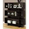 Dulcet Modern 5-Tier Bookcase - Cappuccino Finish