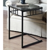 Illusion Snack Table / Laptop Stand - Charcoal Finish, Metal