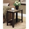 Presto Side Table with Lower Shelf - Cappuccino - MNRH-I-3114