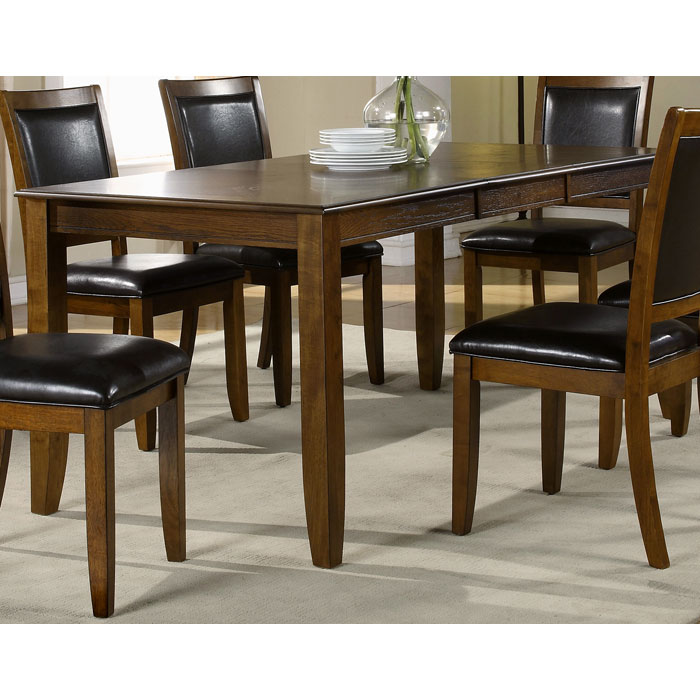 Integrity Rectangular Dining Table - Dark Walnut Ash Veneer - MNRH-I-1892