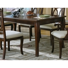 Perspective Dining Table - Walnut Finish, Cabriole Legs