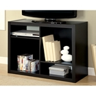 Dulcet Contemporary TV Stand - Cappuccino Finish