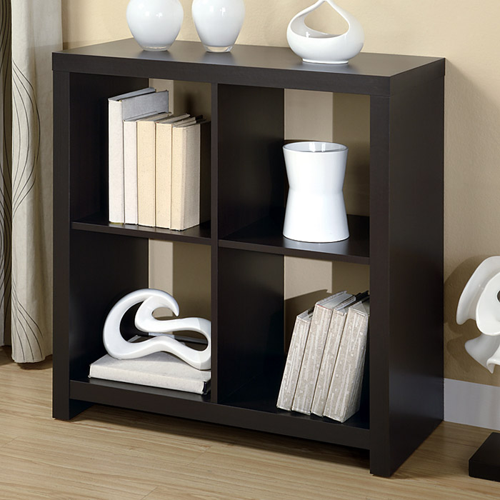 Dulcet Storage & Display Unit - Cappuccino Finish