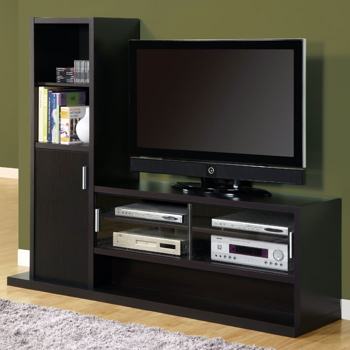 Dulcet Entertainment Center - Side Cabinet, Cappuccino