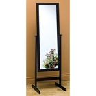 Sonnet Swivel Cheval Mirror - Rectangular, Cappuccino
