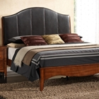 Auckland Queen Platform Bed - Upholstered Headboard