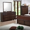 Edison 5 Piece Bedroom Set - Storage Bed, Java Oak, King - NSI-516002BKS