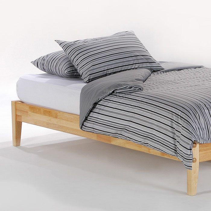 Basic Platform Bed with Folding Foot Bench - NDF-BASIC-FFB