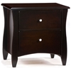 Clove Two Drawer Nightstand