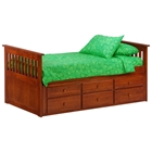 Ginger Captains Bed