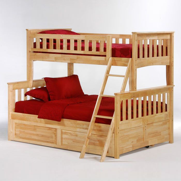 Ginger Twin Over Full Bunk Bed - NDF-GIN-TWNFUL