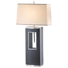 Pierce Table Lamp with Tan Linen Shade