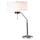 Miles Table Lamp with Round White Shade