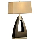 Trina Triangular Table Lamp
