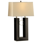 Earring Standing Table Lamp in Black