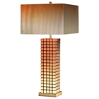 Grid Bronze Table Lamp