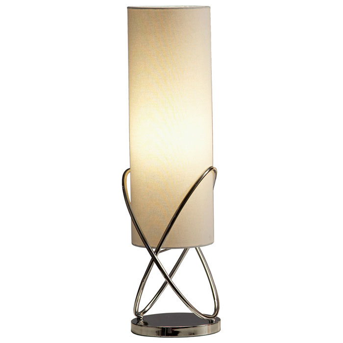 Internal Table Lamp with Chrome Base - NL-11189