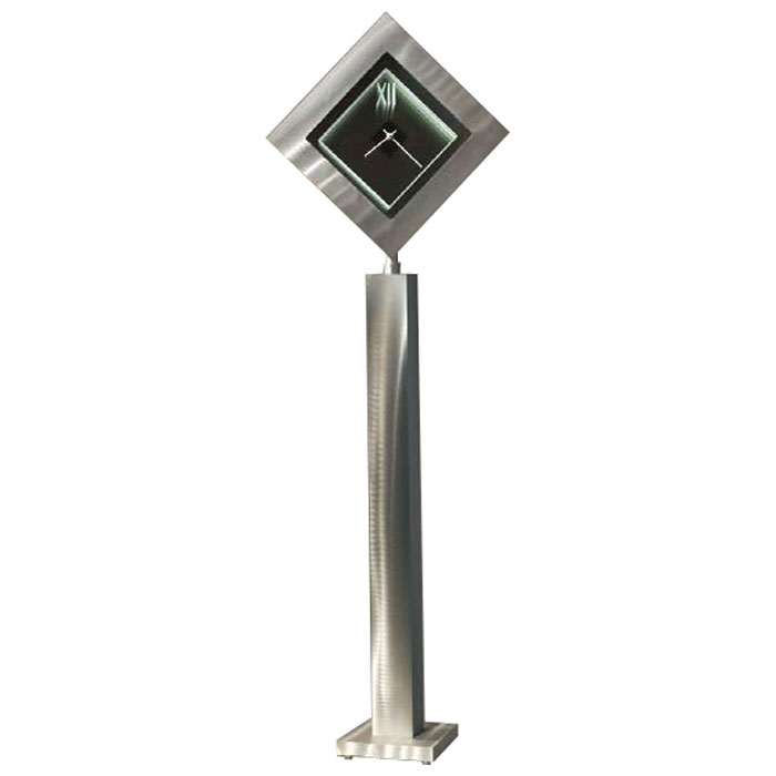 Time Lines Clock Pedestal
