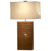 Rift Bamboo Standing Table Lamp