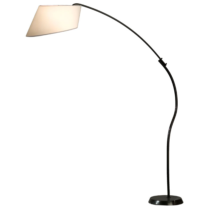Ibis Arc Floor Lamp in White