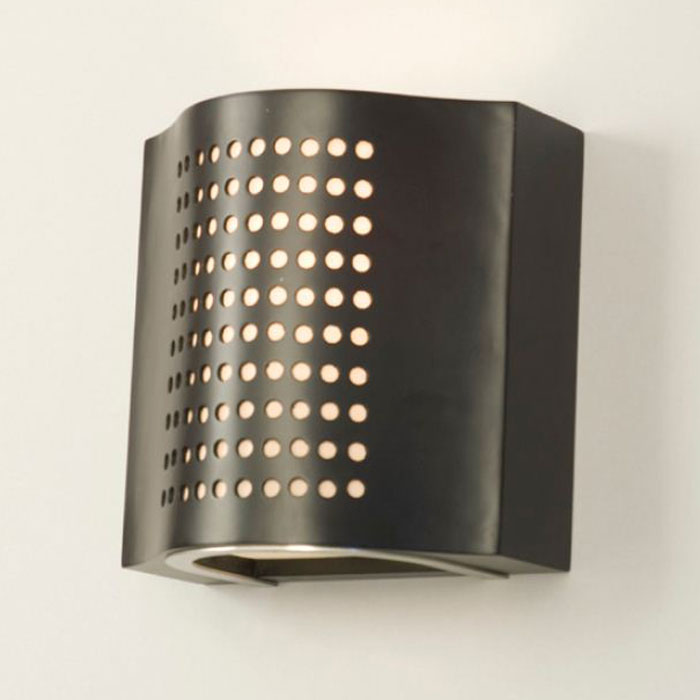 Squeeze Wall Sconce in Dark Brown