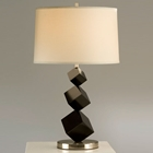 Cubes Standing Table Lamp in Black