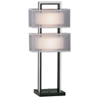 Amarillo Silver Accent Table Lamp