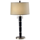 Konico Slim Table Lamp in Dark Brown (Set of 2)