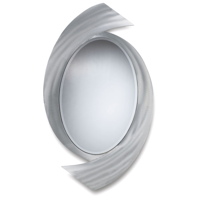 Boomerang Oval Console Mirror - NL-CSM3A