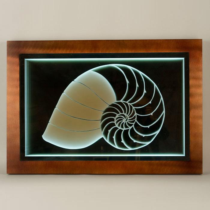 Nautilus Infinity Wall Graphic