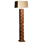 Root Beer Squared Floor Lamp