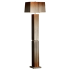 Bronze Grid Floor Lamp